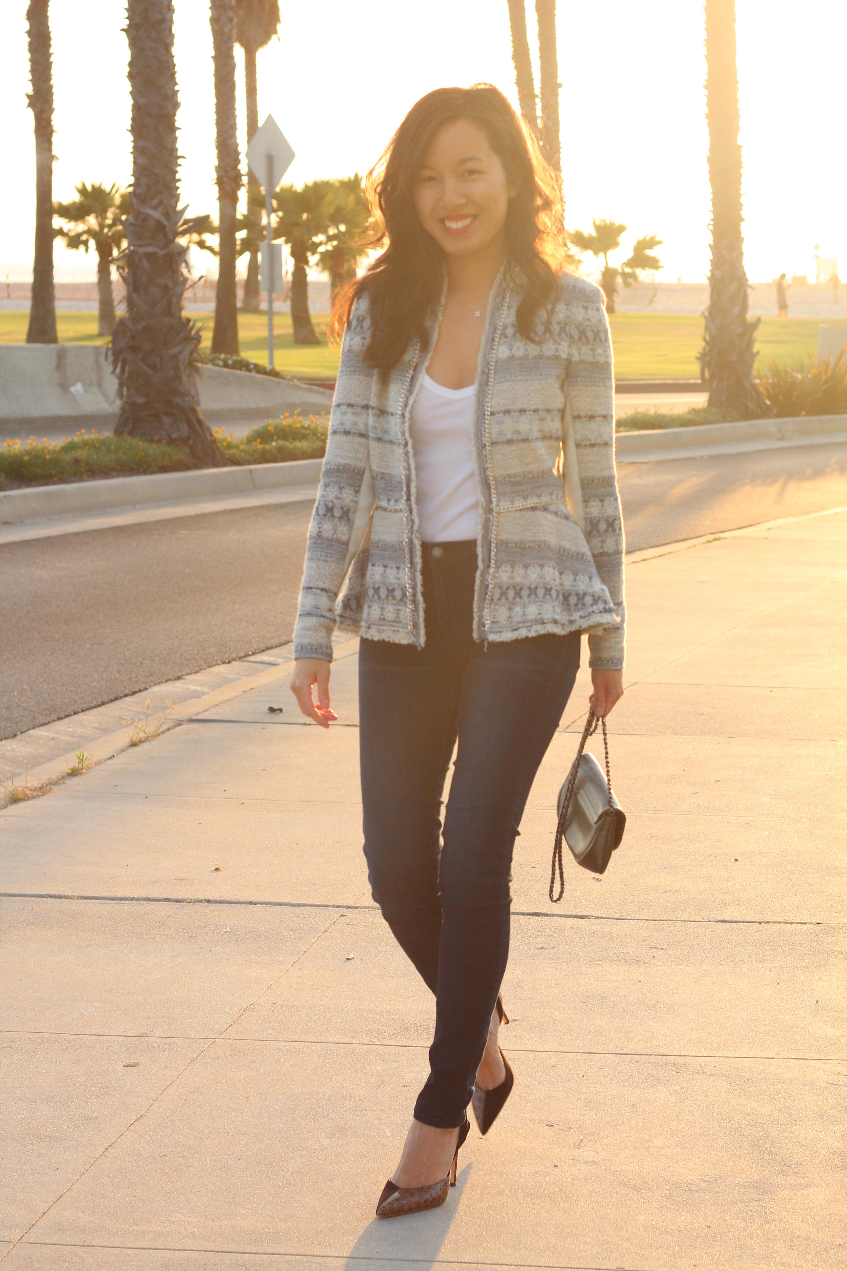 Peplum Tweed Jacket Img